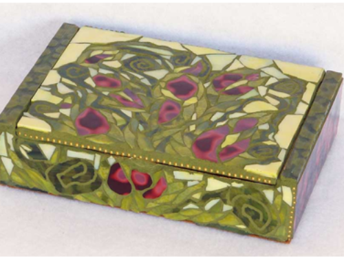 Vines and Roses Cigar Box