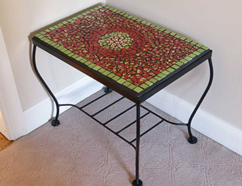 Reimagined Pottery Garden Table